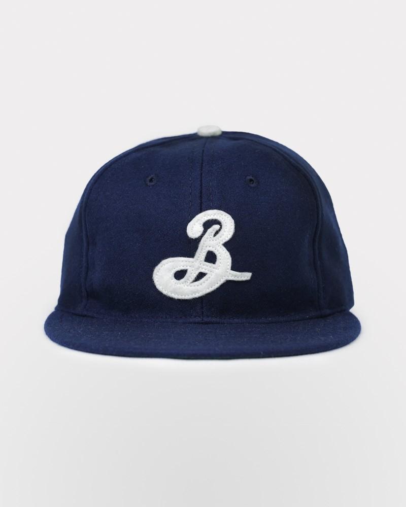 f2f456df Brooklyn X Ebbets Field Vintage Wool Cap - English