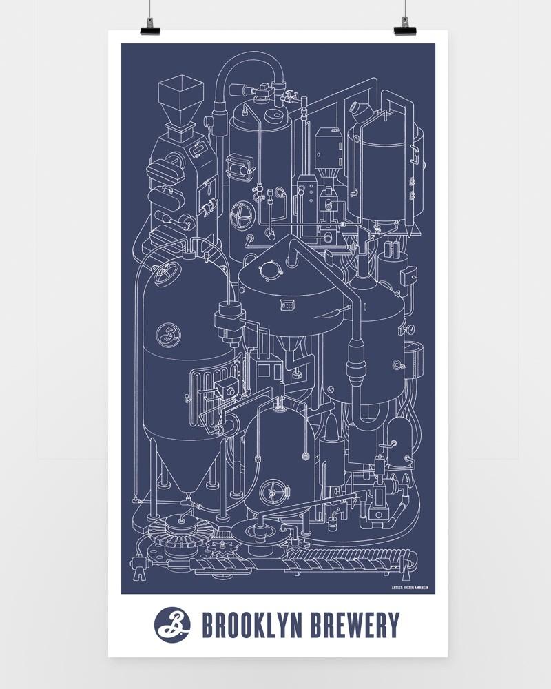 Brooklyn Brewhouse Print