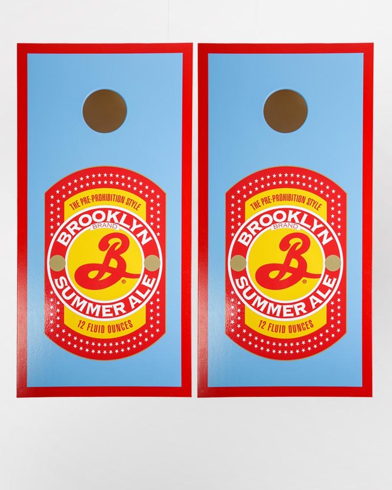 Brooklyn Cornhole Set - Summer Ale