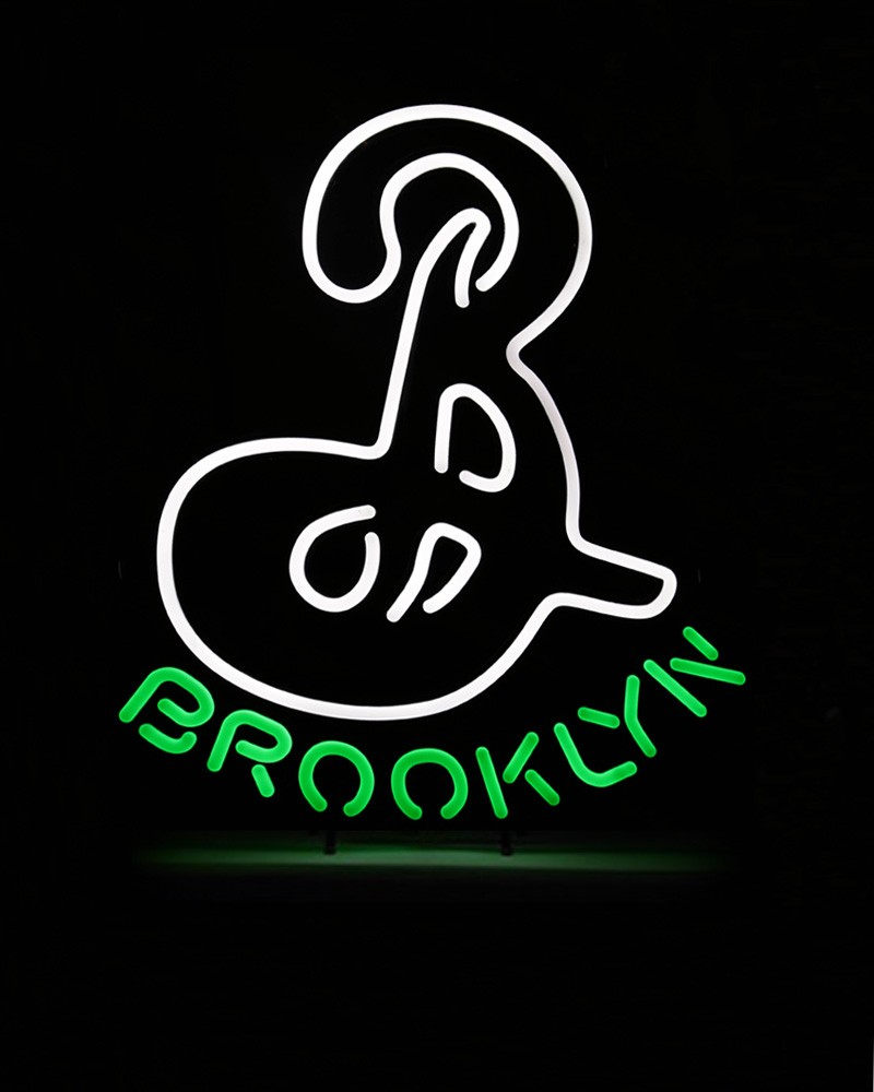 "Brooklyn ""B"" LED Sign (Euro 220v)"