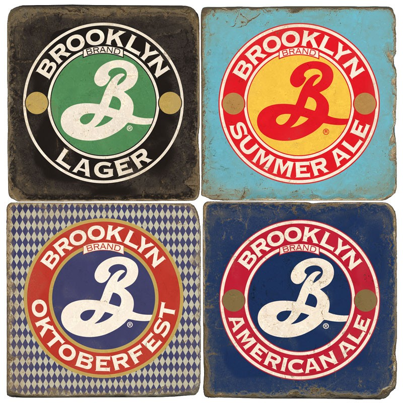 Marble Brooklyn Coaster