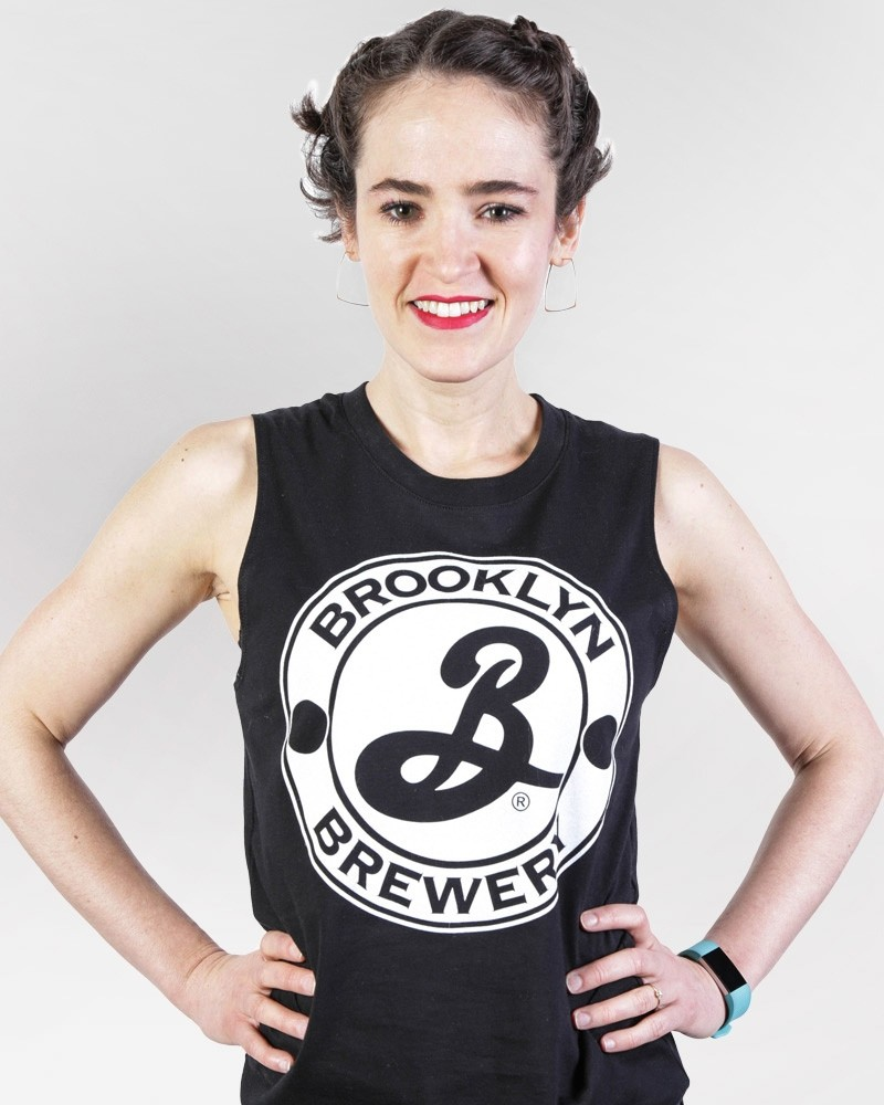 Women\'s Brooklyn Muscle Tee - English