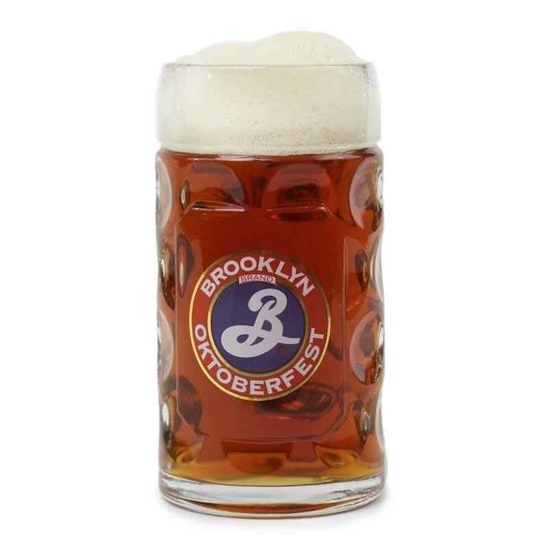 .5L Oktoberfest Glass Stein