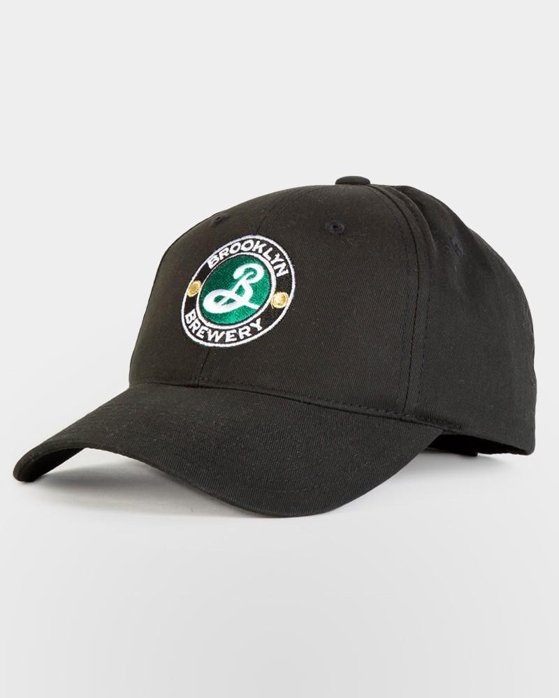 Brooklyn Logo Baseball Hat - Black