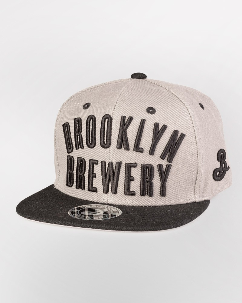Brooklyn Brewery Snapback - Gray/Black