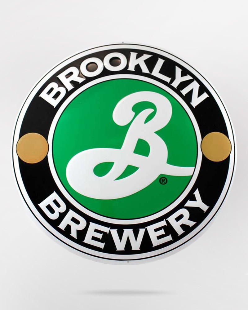 Brooklyn Brewery Metal Sign