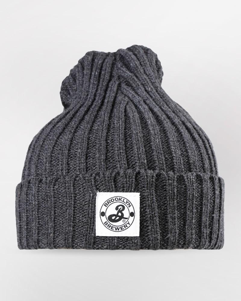 Brooklyn Watchman Cap - Charcoal Grey