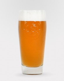 16oz Brewhouse Embossed Glass