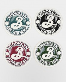 Brooklyn Brewery Stone Coaster