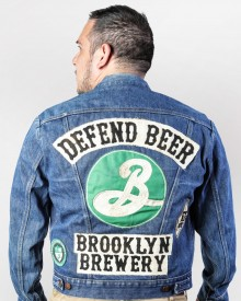 Defend Beer Vintage Denim Jacket