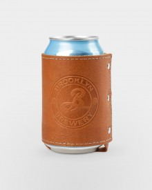 Brooklyn Leather Koozie