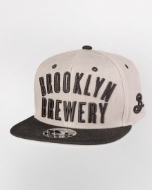 Brooklyn Brewery Snapback - Black/Grey