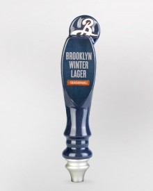 Winter Lager Tap Handle