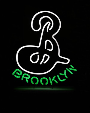 "Brooklyn ""B"" Lighted Sign (Euro 220v)"