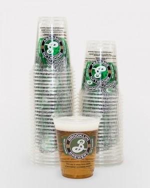 12oz Plastic Brooklyn Cups (50)