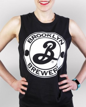 Brooklyn Muscle Tee - Black