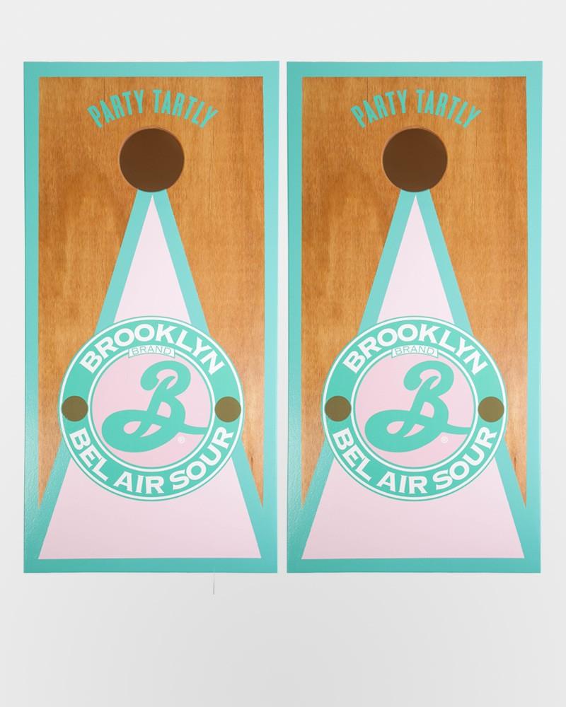 Brooklyn Cornhole Set - Bel Air Sour