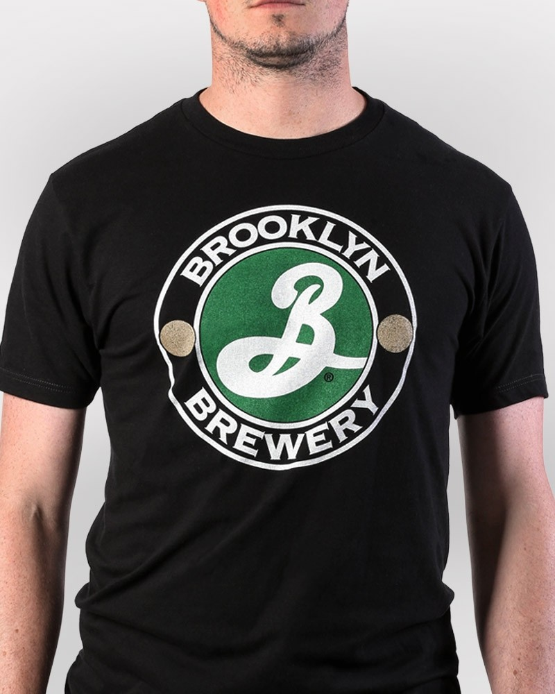 Brooklyn Big Logo Tee - Black