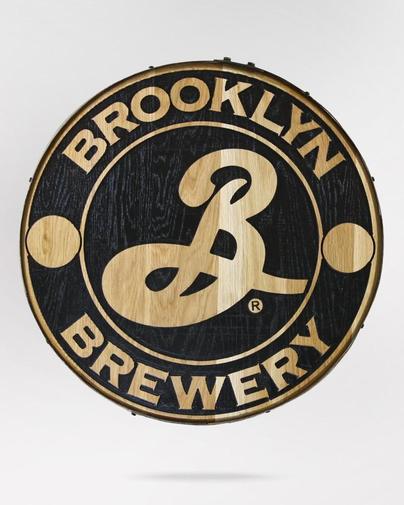Brooklyn Barrel Head Sign