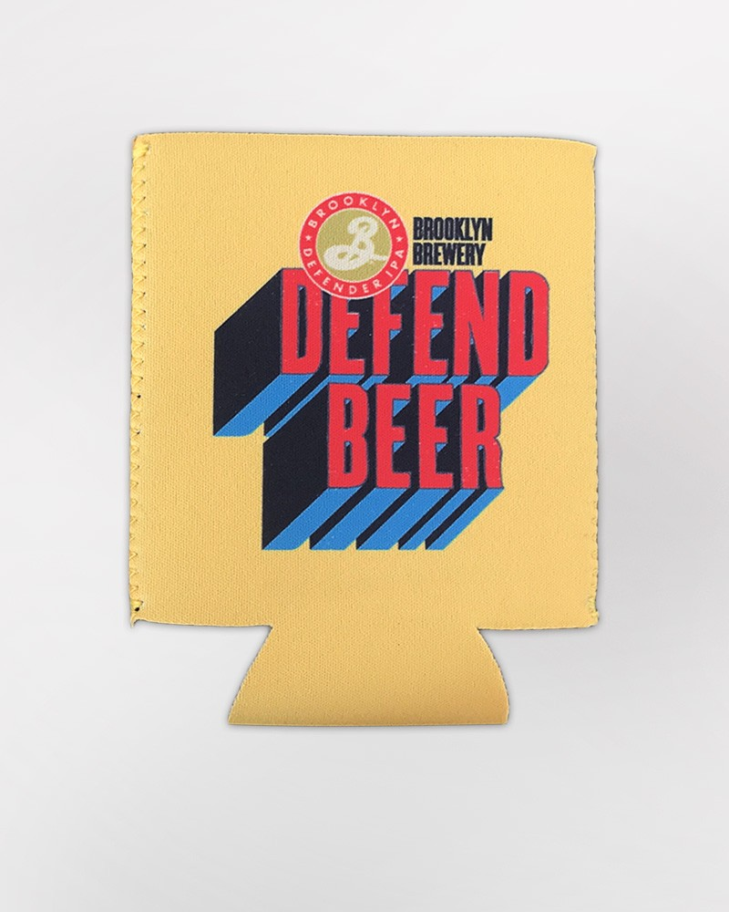 Defend Beer Koozie