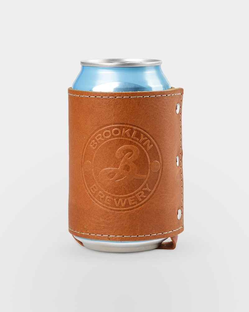 Brooklyn Leather Can Insulator