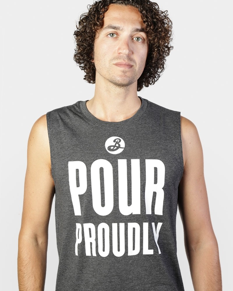 Pour Proudly Muscle Tee