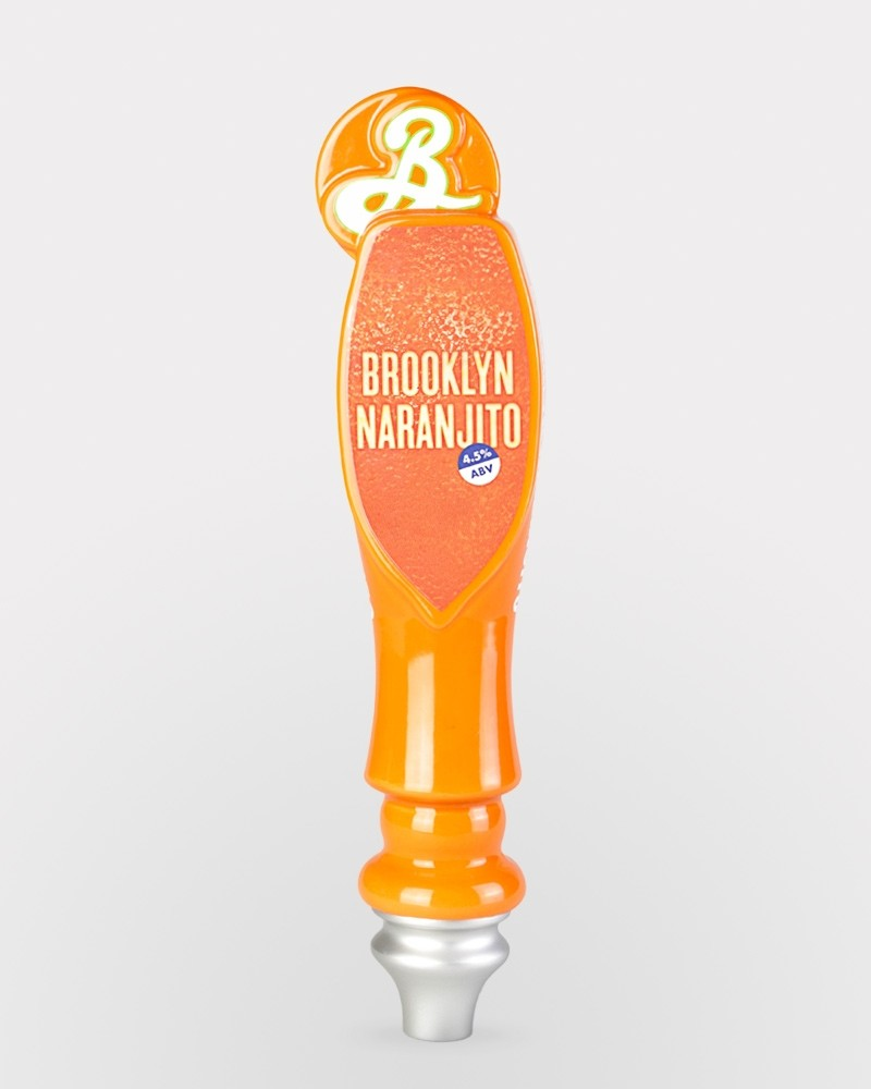 Naranjito Tap Handle - Flat-face