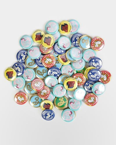 Brooklyn Brewery Buttons