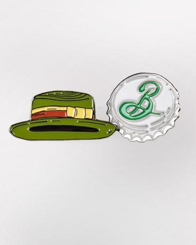 Sale! Enamel Pin Set - Garrett's Hat & Bottle Cap