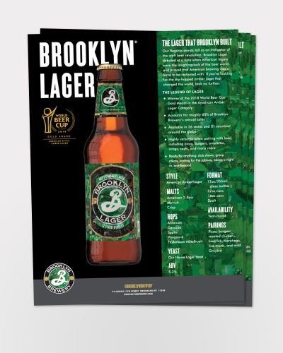 Lager Sell Sheet 50/Ct