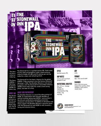 Stonewall Inn IPA Sell Sheet 50/Ct