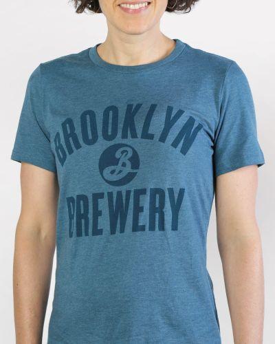 Sale! Brooklyn Varsity Tee - Teal