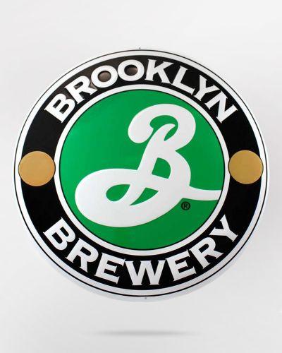 Brooklyn Brewery Metal Sign