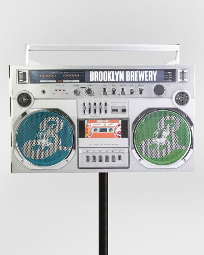 BK Mix Boom Box Poletopper