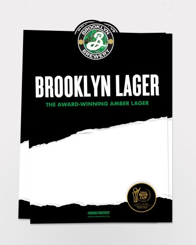 Lager Case Card 25/ct