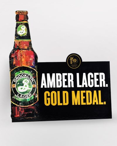 Brooklyn Lager Case Topper 5/Box
