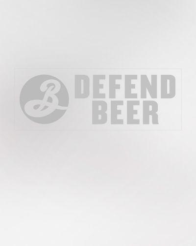 Defend Beer Cling Decal 50/Ct