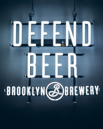 Sale! Defend Beer Lighted Sign