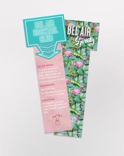 Bel Air Cocktail Bookmark - 100/Ct