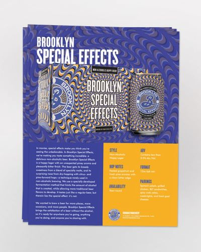 Special Effects Sell Sheet 50/Ct