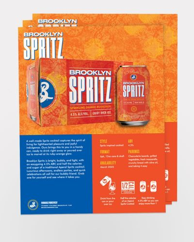 Spritz Sell Sheet 50/Ct