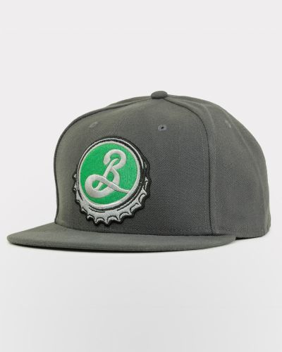 Bottle Cap Snapback Cap