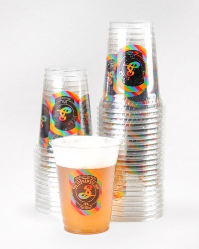 16oz Stonewall Inn IPA Plastic Cups - 1000/Ct