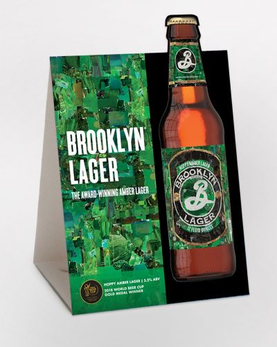 Brooklyn Lager Table Tent 25/Ct