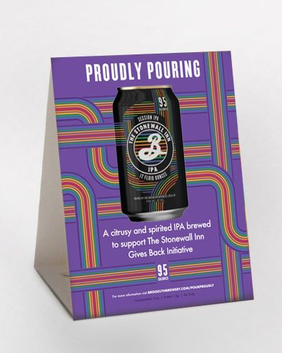 Stonewall Inn IPA Table Tent 25/Ct